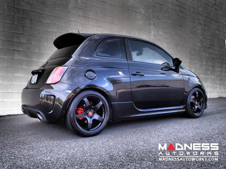 fiat 500 custom wheels by neu f rse05 17 wheel black. Black Bedroom Furniture Sets. Home Design Ideas
