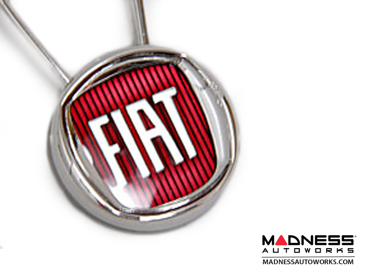 fiat 500 keychain fiat badge fiat 500 parts and accessories. Black Bedroom Furniture Sets. Home Design Ideas