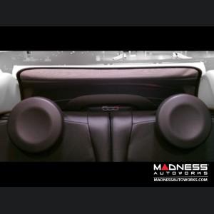 FIAT 500C (Cabrio) Windscreen - Black