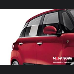 FIAT 500L Chrome Window Trim (6 pc set) - High Polished Stainless Steel