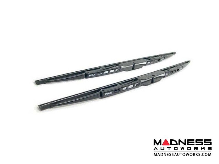 FIAT 500 Windshield Wipers - Front Set - Super Silicone by PIAA