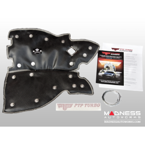 FIAT 500 Downpipe Thermal Blanket