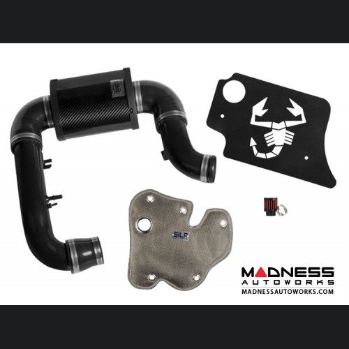 FIAT 500 MADNESS Induction Pack - 1.4L Multi Air Turbo Engine - MAXFlow Intake + Engine Cover + Thermal Blanket