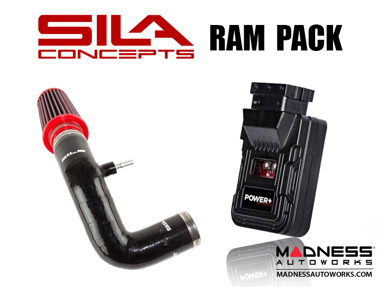 FIAT 500 Ram Pack - SILA Concepts - 1.4L Multi Air Turbo - Black - 2015 - on models