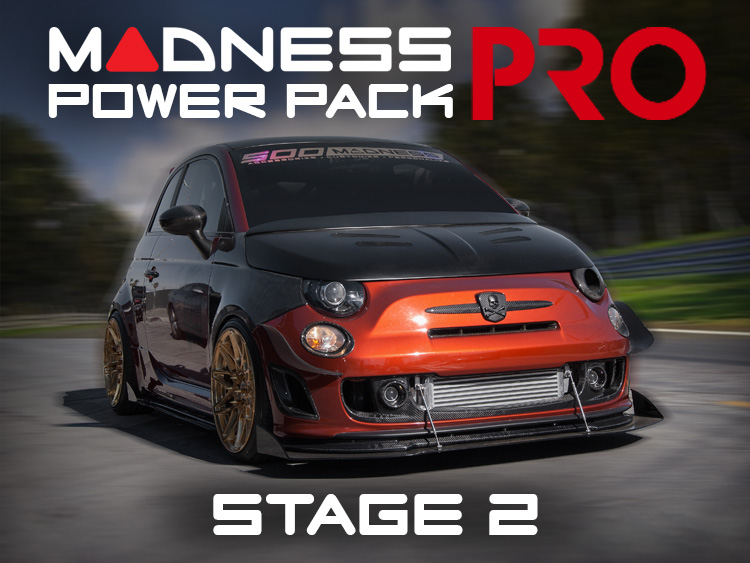FIAT 500 MADNESS Power Pack PRO - Stage 2 - 1.4L Turbo Models