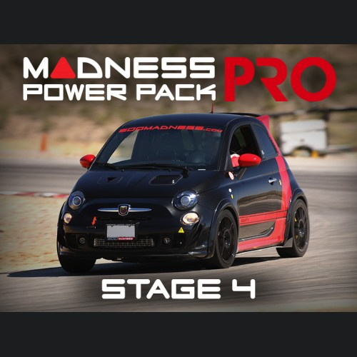FIAT 500 MADNESS Power Pack PRO - Stage 4 - 1.4L Turbo Models