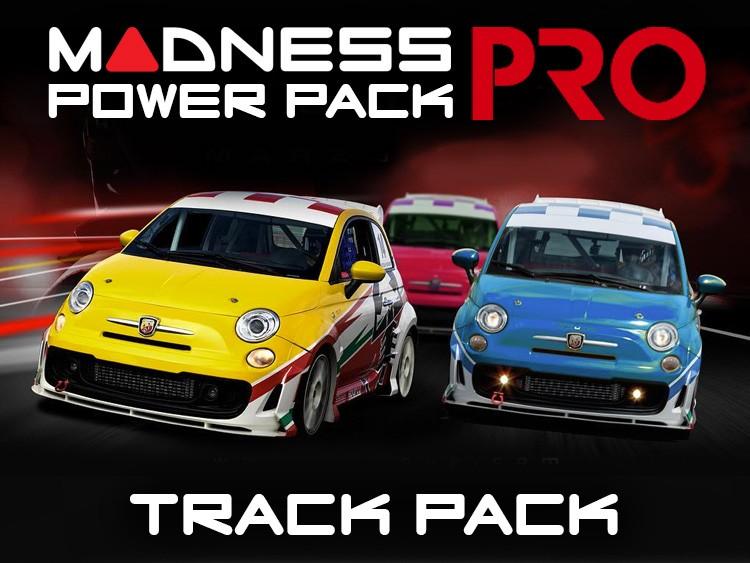 FIAT 500 MADNESS Track Pack - 1.4L Multi Air Turbo Engine