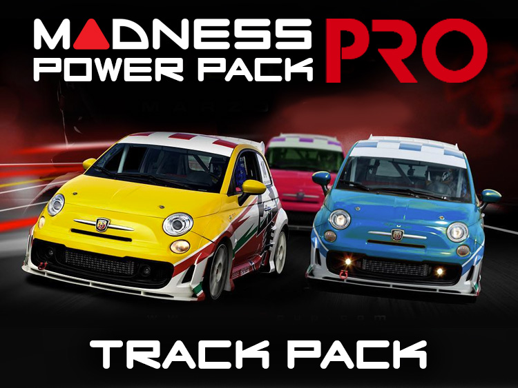FIAT 500 MADNESS Track Pack - 1.4L Multi Air Turbo Engine