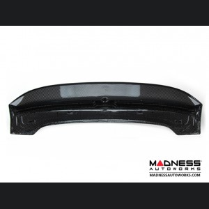 FIAT 500 Roof Spoiler - Carbon Fiber - ABARTH Style - High Gloss Clear Coat Finish