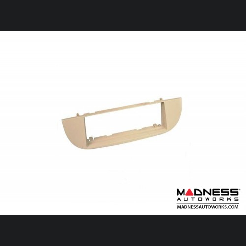 FIAT 500 Radio Dash Kit - Beige Color