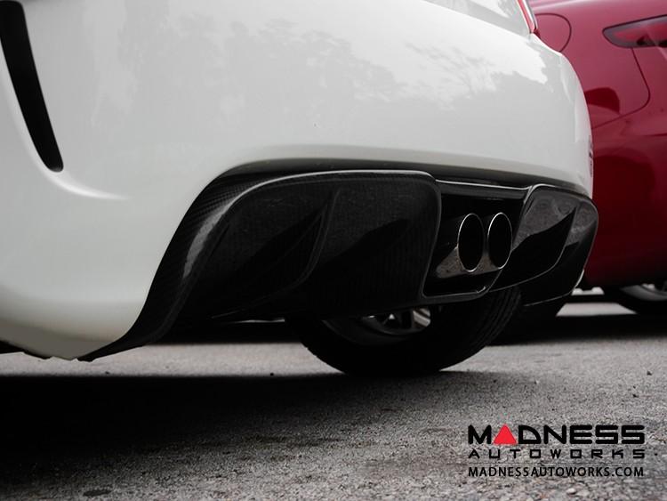FIAT 500 Rear Diffuser - Carbon Fiber - Center Exit