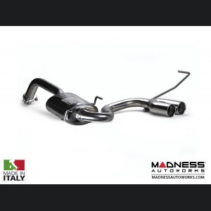 FIAT 500 Performance Exhaust - Ragazzon - H2 FlowLine - Center Exit / Dual Tip