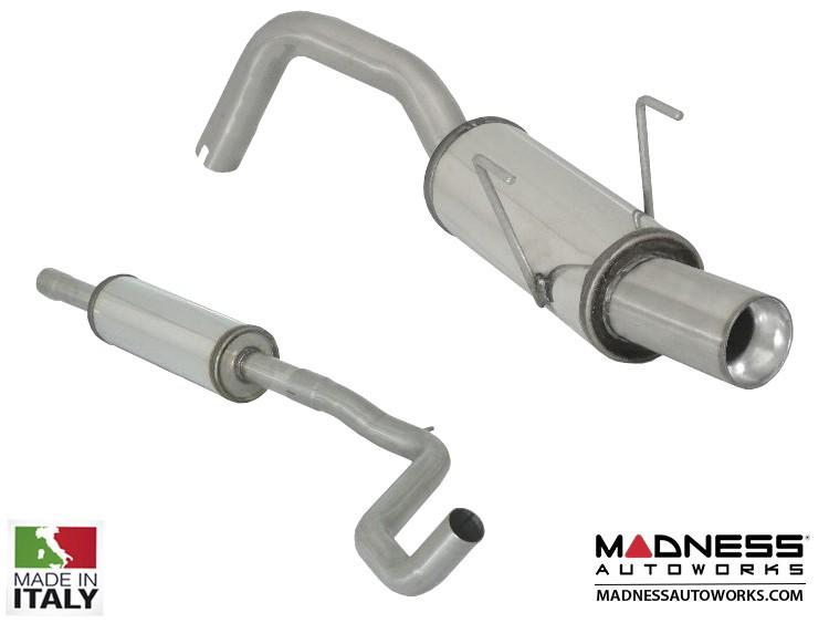 FIAT 500 Performance Exhaust - Ragazzon - H2 Flow Line - Side Exit Design