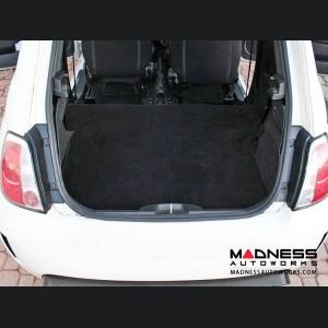 FIAT 500 Rear Seat Delete Carpet Kit - Black