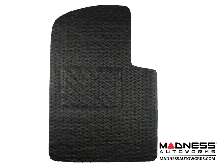 FIAT 500 All Weather Floor Mats (set of 4) - Custom Rubber Woven ...
