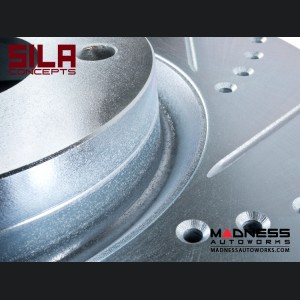 FIAT 500 Brake Rotors by SILA Concepts - Performance - Rear