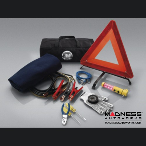 FIAT 500X Roadside Safety Kit - Genuine FIAT