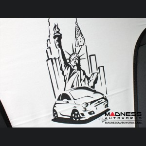 FIAT 500 Seat Cover Set - Statue of Liberty/ New York