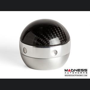 FIAT 500 Gear Shift Knob + Gear Shift Boot - Magneti Marelli - Genuine Carbon Fiber