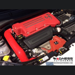FIAT 500 Air Filter Housing Upgrade Kit - 1.4L Multi Air Turbo Engine - Black Silicone w/o filter (2015 - on Model)