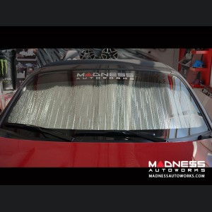 FIAT 124 Sun Shade/ Reflector - Front Windshield - Blackout
