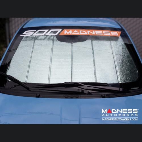 FIAT 500 Windshield Reflector by Intro-Tech - Ultimate Reflector - w/ Rain Sensor