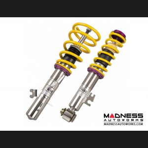 FIAT 500 Coilover Kit by KW - Variant 3 Type 312 - inox-Line