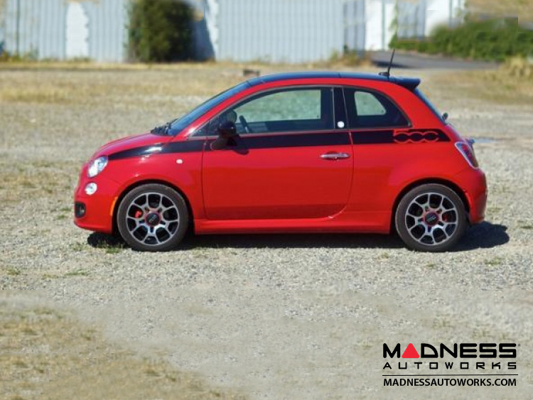 Fiat 500 Lowering Springs By H Amp R North American Model