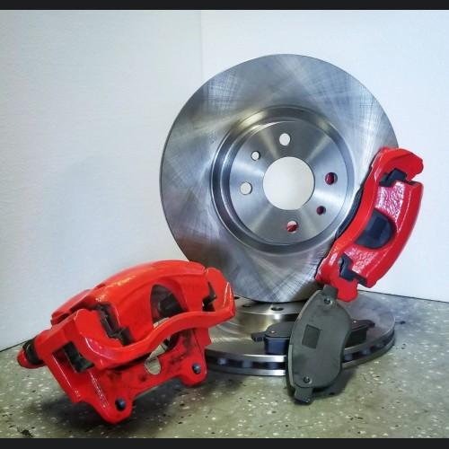 FIAT 500 Pop, Sport, Lounge OEM ABARTH Front Brake Retrofit Package - Take Off