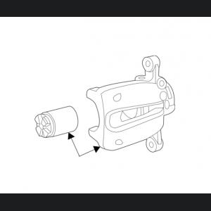 FIAT 500 Brake Caliper - Rear Right/ Passenger Side - Take Off