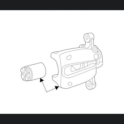 FIAT 500 Brake Caliper - Rear Left/ Driver Side - Take Off