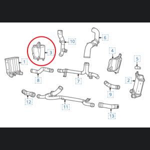 FIAT 500 ABARTH Intercooler Shroud / Cover - Left / Driver Side