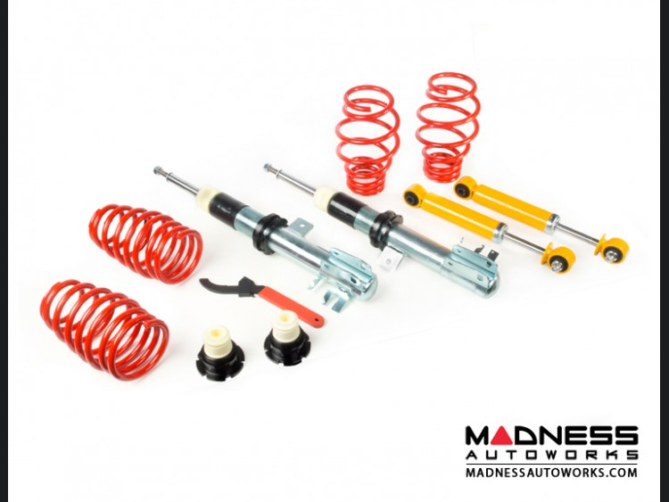Poster: MADNESS Jason FIAT 500 Coilover Kit - MADNESS by V-Maxx ON SALE NOW!