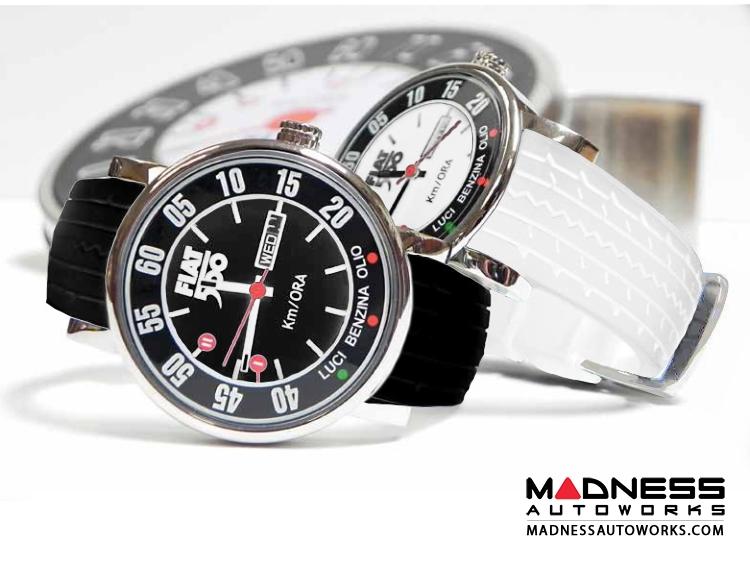Classic Fiat 500 Watch - Black