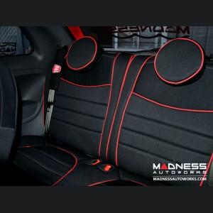 FIAT 500 Seat Covers - Rear Seats - Custom Neoprene Design - All Models