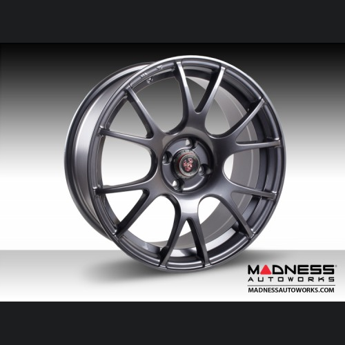 "FIAT 500 Custom Wheels - Competizione CV-2 - Gunmetal Finish - 17"""