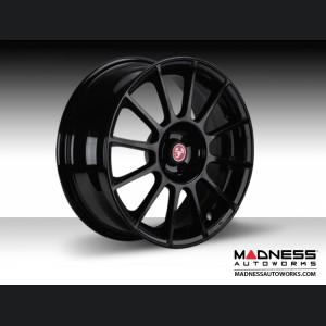 "FIAT 500 Custom Wheels - 17"" ABARTH Forged Wheel - Custom Gloss Black Finish"