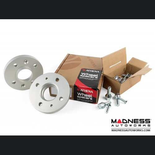 FIAT 500 Wheel Spacers by Athena - 12mm (set of 2 w/ bolts)