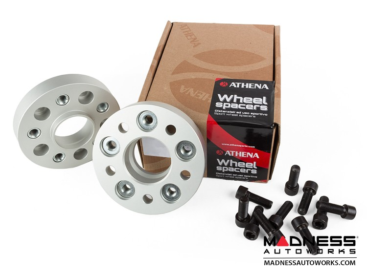 FIAT 500L Wheel Spacers by Athena - 25mm (set of 2 w/ bolts)