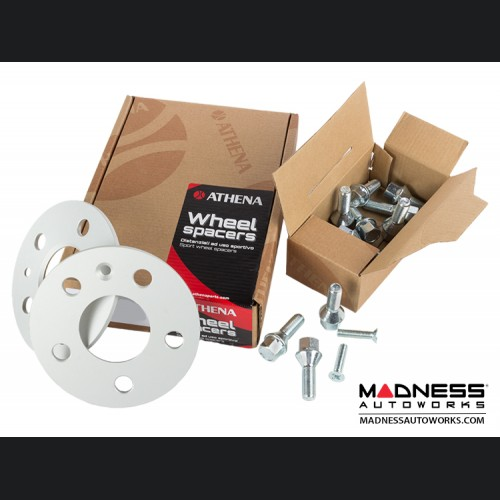 FIAT 500L Wheel Spacers by Athena - 5mm (set of 2 w/ bolts)