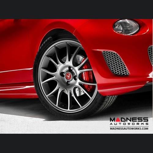 "FIAT 500 ABARTH Tributo Ferrari Alloy Wheels - 17"""