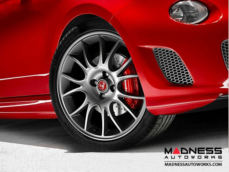 FIAT 500 ABARTH Tributo Ferrari Alloy Wheels - 17""