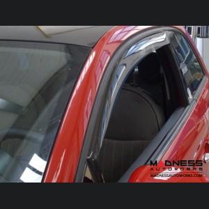 FIAT 500X Side Window Air Deflectors - Front Set
