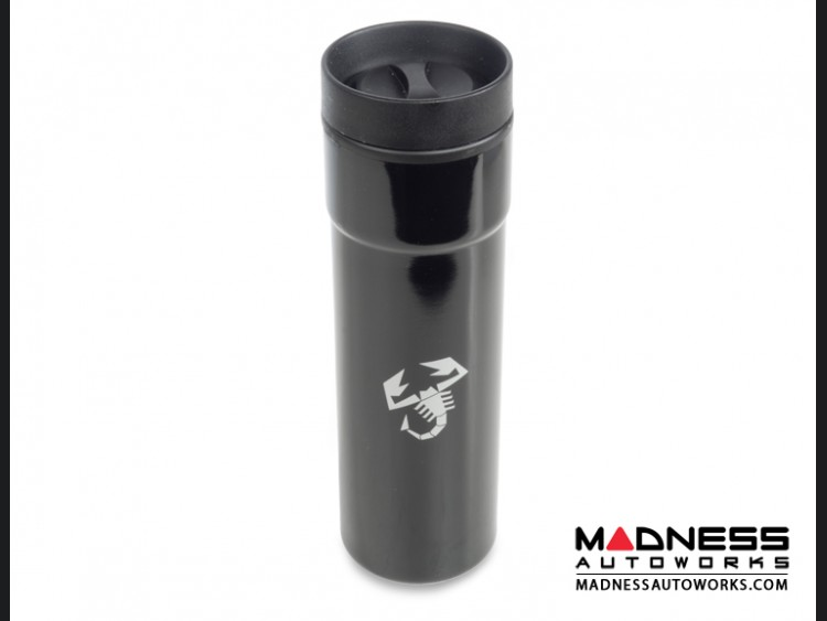 ABARTH Coffee Tumbler - Black w/ ABARTH Scorpion Logo