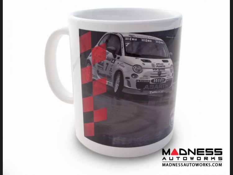 ABARTH Coffee Cup / Mug - ABARTH Race Cars in action