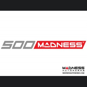 """500 MADNESS Decal - 9"""""""
