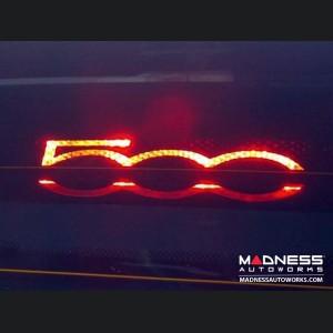 FIAT 500 Rear Stop Light Decal - 500