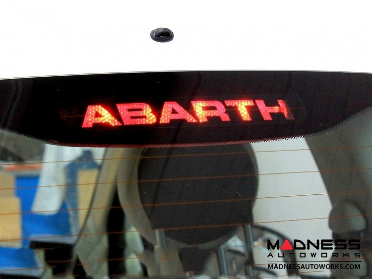 FIAT 500 Rear Stop Light Decal - ABARTH