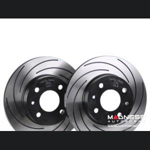 FIAT 500 Brake Rotors by Tarox - Rear