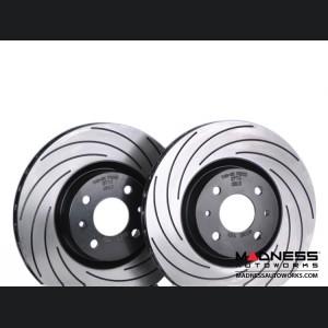 FIAT 500 ABARTH/ 500T Brake Rotors by Tarox - Front